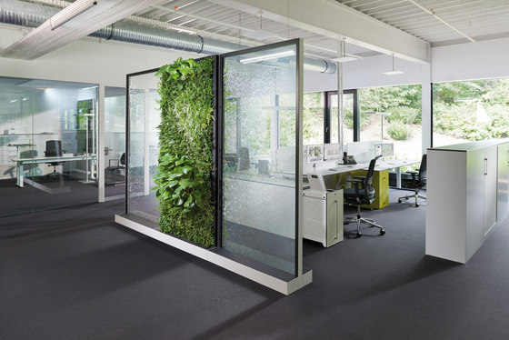 ClimateOffice Mobiles Heckenelement de C+P Möbelsysteme