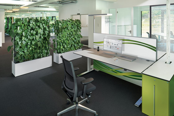Climate Office Mobile Wasserwand ClimateOffice de C+P Möbelsysteme