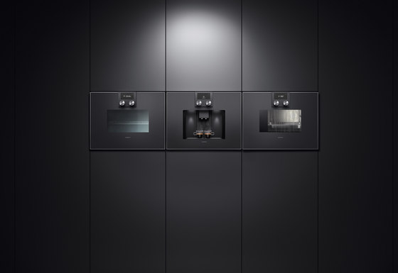espresso vollautomat serie 400 cm 470 450 coffee machines from gaggenau architonic. Black Bedroom Furniture Sets. Home Design Ideas
