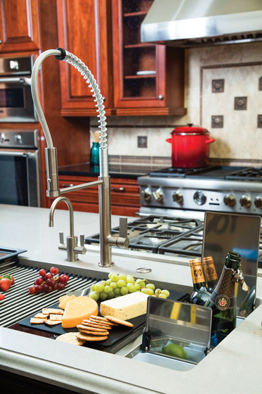 Chef Center Sinks - Stainless Steel by Franke Kitchen Systems