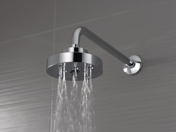 Raincan Showerhead with H2Okinetic® Technology by Brizo
