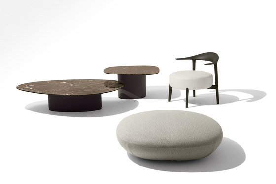 Galet Low Table Lounge Tables From Giorgetti Architonic