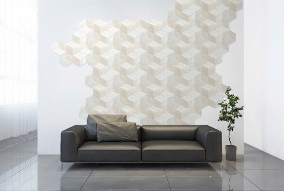 Hive   Etched Cream de Tango Tile