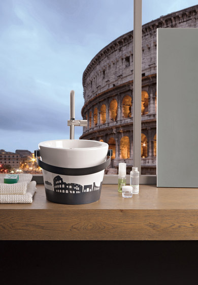 Bucket by Scarabeo Ceramiche