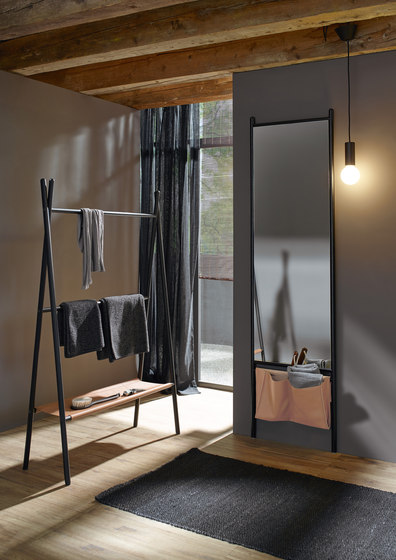 Mya | Wardrobe-partition/free-standing by burgbad