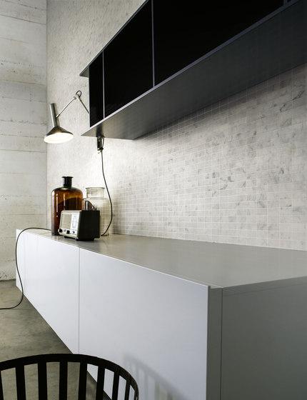 Pietre | Bianco Carrara 23x23 di Mosaico+