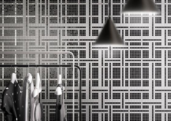 Decor Geometric | Squares Blue 20x20 de Mosaico+