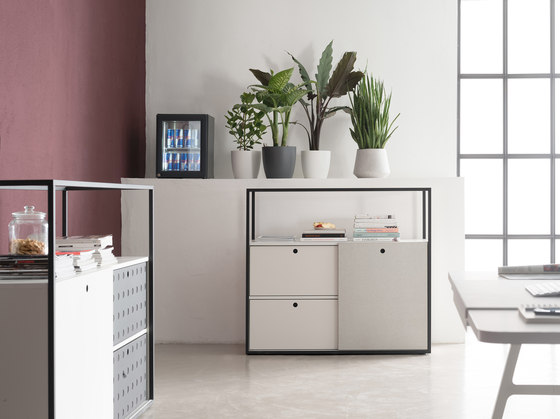 Cage cabinet system by Wiesner-Hager