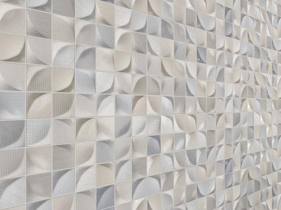3D Tissu White by Dune Cerámica