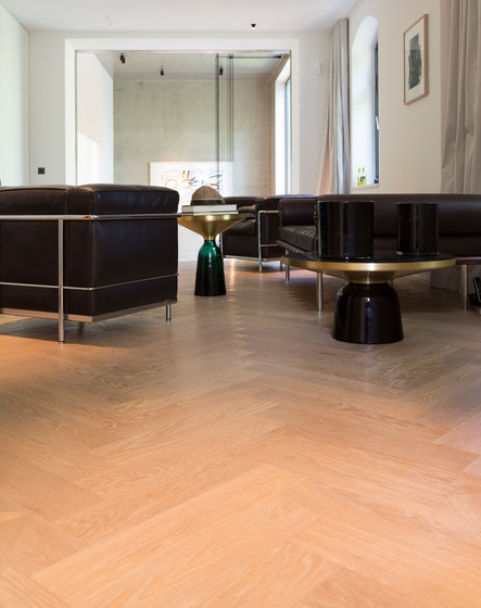FLOORs Selection Chevron Oak by Admonter Holzindustrie AG