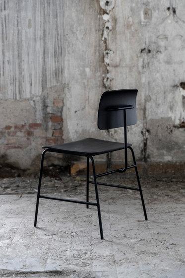 Sincera Chair black cover 031 by Bent Hansen