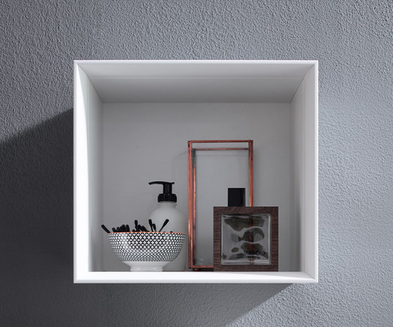 Junit | Ceramic washbasin incl. vanity unit by burgbad