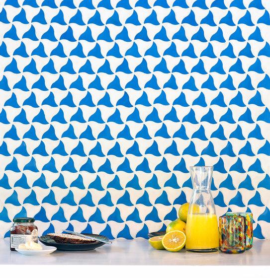 Kite-Blue-White by Granada Tile