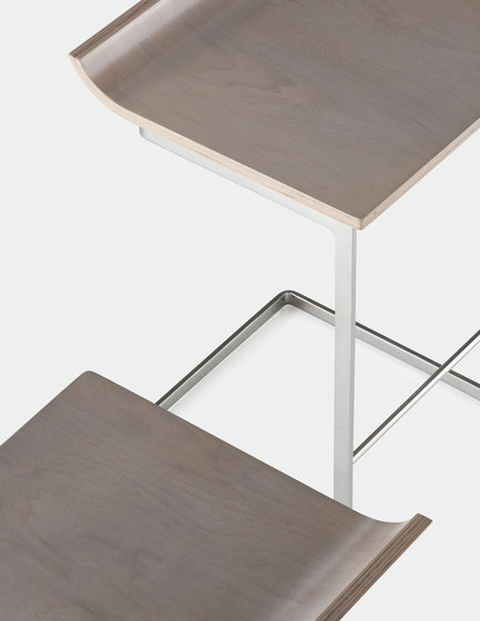 Li | Backed Stool by Cumberland Furniture