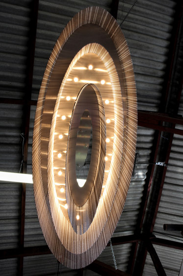 Elliptical 3-Tier - 1600 -  suspended by Willowlamp