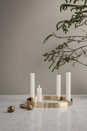 Candle Holder Circle - Large de ferm LIVING