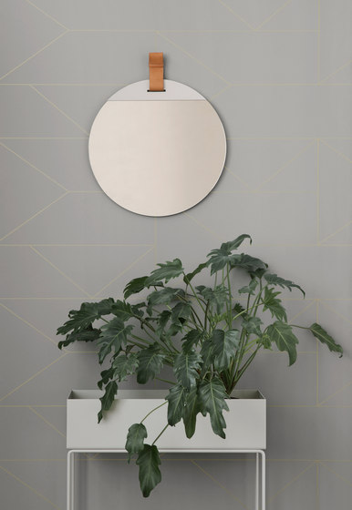 Enter Mirror - Small de ferm LIVING