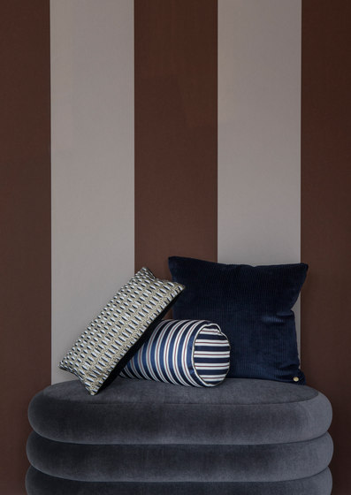 Salon Pleat Rust Cushion de ferm LIVING