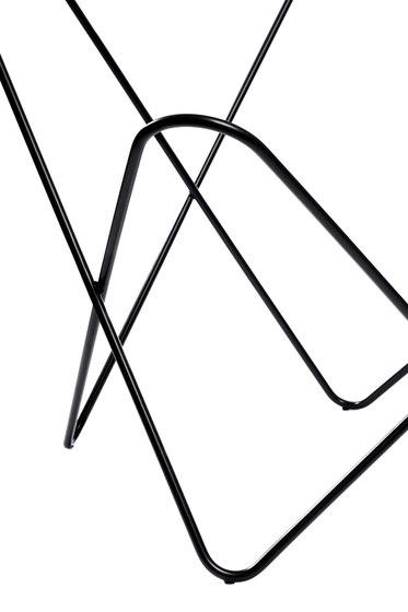 Hardoy Butterfly Chair - Gestell Stahl schwarz di Manufakturplus