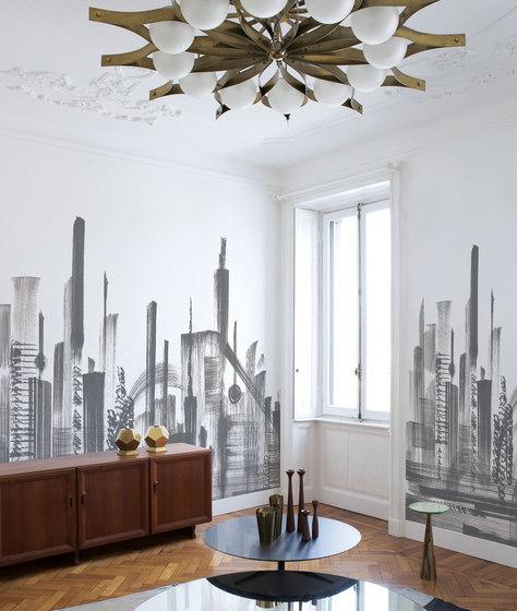 skyline wandbel ge tapeten von londonart architonic. Black Bedroom Furniture Sets. Home Design Ideas