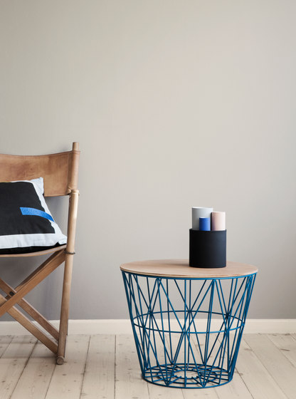 Wire Basket Small - Black by ferm LIVING