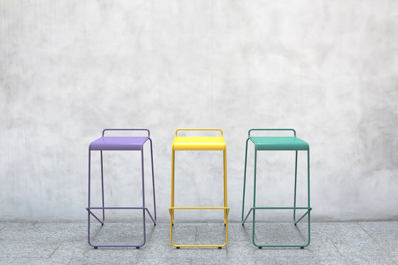 KNST2000-BH-M0 Stool by Maglin Site Furniture