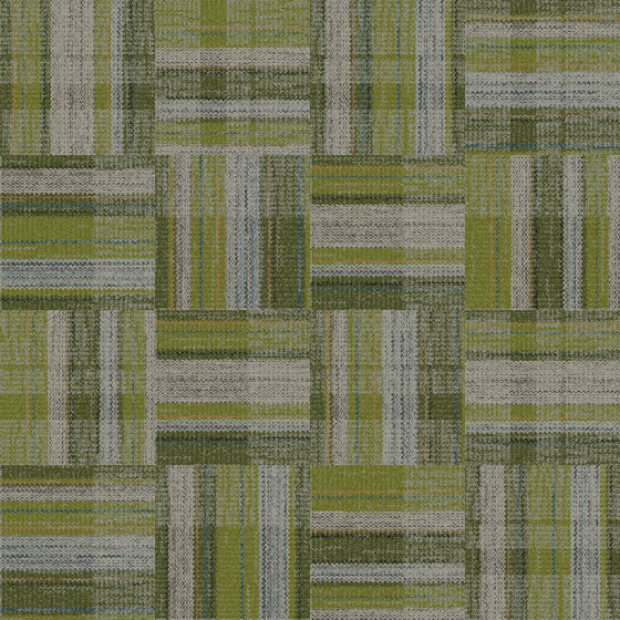 World Woven - Summerhouse Brights Paprika/Natural variation 1 by Interface USA
