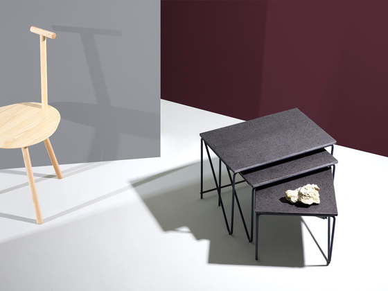 Tryptich Nesting Tables by Please Wait to be Seated