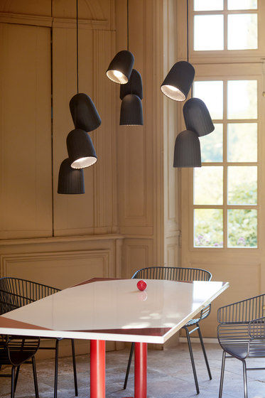 Chains | Triple Pendant Lamp 3 Units de Petite Friture