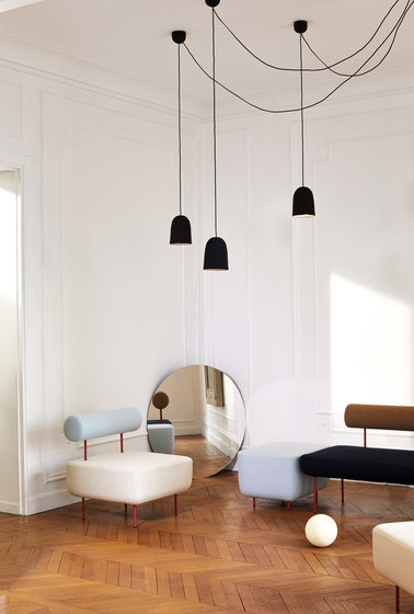 Chains | Triple Pendant Lamp 3 Units by Petite Friture
