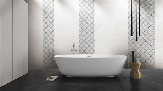 Mosaic Square CROSS 12X12 | Type E de Gani Marble Tiles
