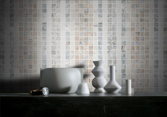 Mosaic Square SHADE 12X12 | Type M by Gani Marble Tiles