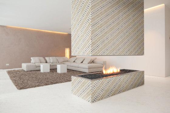 Mosaic Square SHADE 12X12 | Type E de Gani Marble Tiles