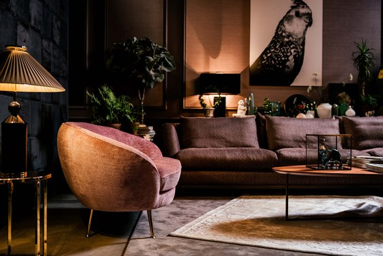 Giulia Sofa by black tie