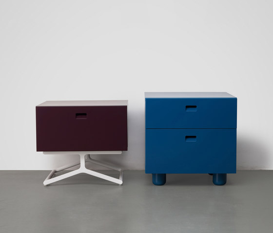 Satellite bedside cabinets by Quodes