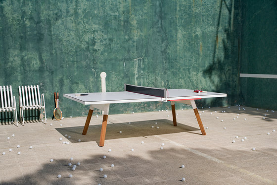 You and Me 180 Ping Pong Table Black de RS Barcelona