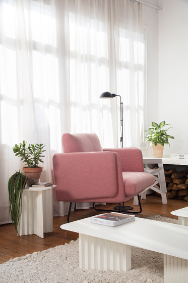 Spongy Armchair Leather de RS Barcelona