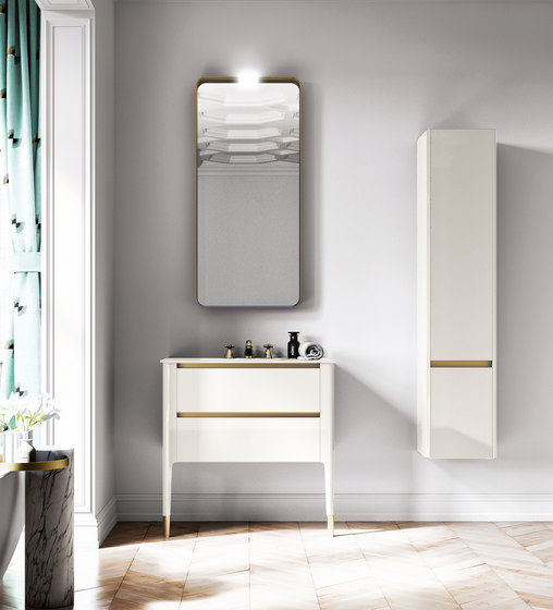 Art | Floor Standing Vanity Basin Unit by BAGNODESIGN