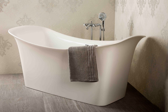 Bathing | Garda Inset Bath Tub by BAGNODESIGN