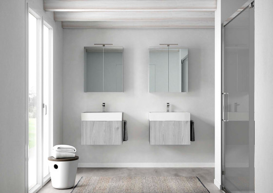 Funktion | Wall Mounted Mirror Unit de BAGNODESIGN
