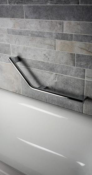 Hotel | Reversible Angled Grab Bar by BAGNODESIGN