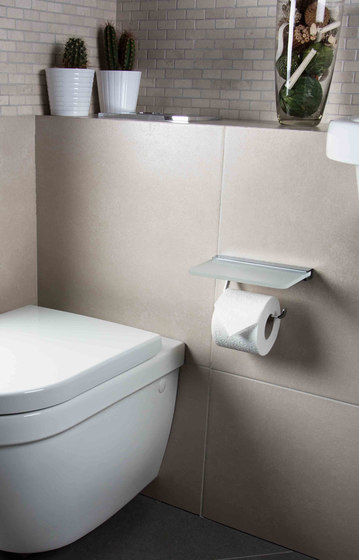 Hotel | Grab Bar With Soap Basket And Anti Slip by BAGNODESIGN