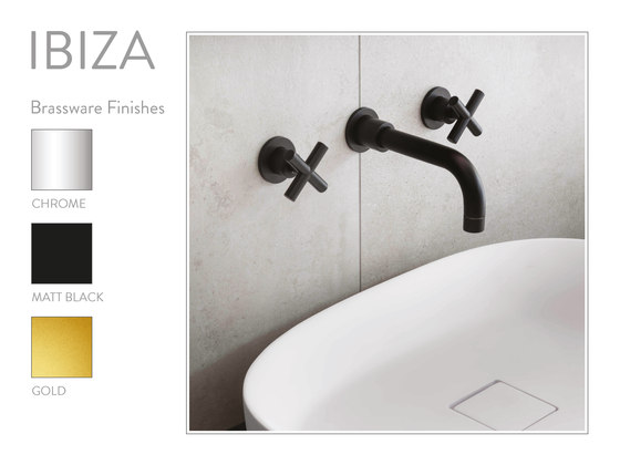 Ibiza | Concealed Basin Mixer by BAGNODESIGN