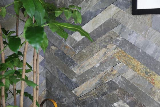 Cross Strips - Himachal White by Island Stone