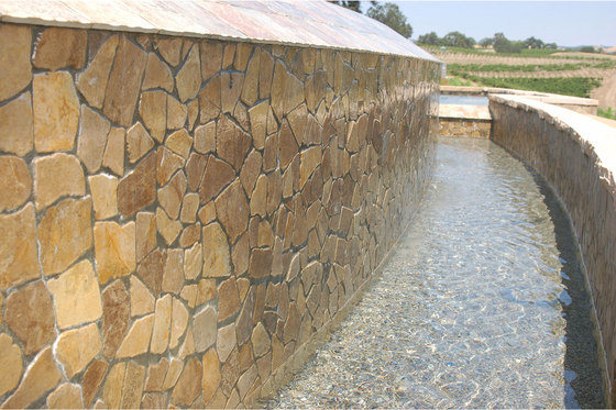Large Random - Tan Marble by Island Stone