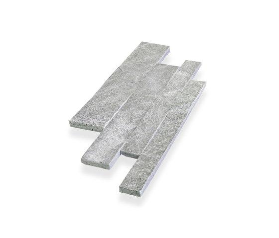 Parallels Cladding - Silver Quartzite de Island Stone