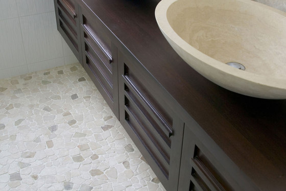 Random Tiles - Latte Quartz by Island Stone
