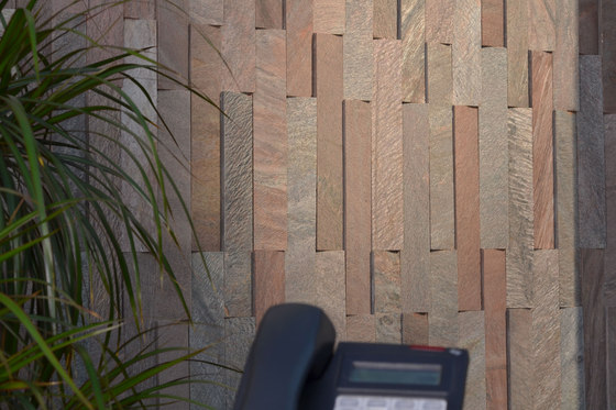 Slat Tile by Island Stone