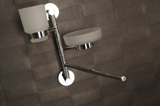 M Line | 2 Hole Concealed Basin Mixer by BAGNODESIGN