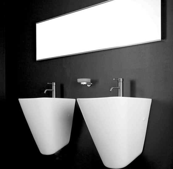 M Line | Floor Mounted Basin Mixer by BAGNODESIGN